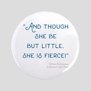 Little but Fierce! - Button