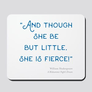Little but Fierce! - Mousepad