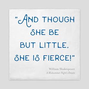 Little but Fierce! - Queen Duvet
