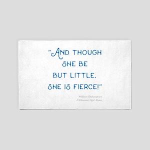 Little but Fierce! - Area Rug