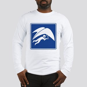 Hang Gliding Sign Long Sleeve T-Shirt