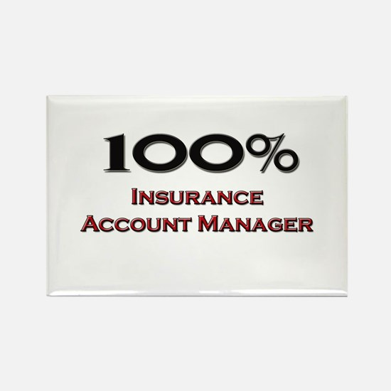 100 Percent Insurance Account Manager Rectangle Ma