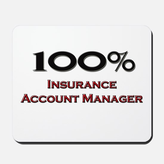 100 Percent Insurance Account Manager Mousepad