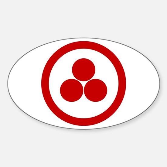 Pax Cultura Oval Decal