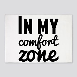 In my comfort zone 5'x7'Area Rug