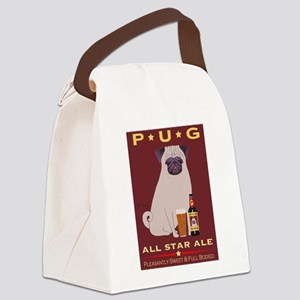Pug All Star Ale Canvas Lunch Bag