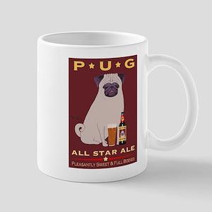 Pug All Star Ale Mug
