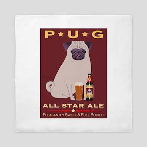 Pug All Star Ale Queen Duvet