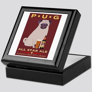 Pug All Star Ale Keepsake Box