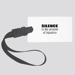 Political issues Large Luggage Tag