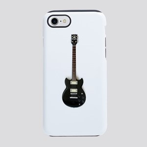 Black Electric guitar iPhone 8/7 Tough Case