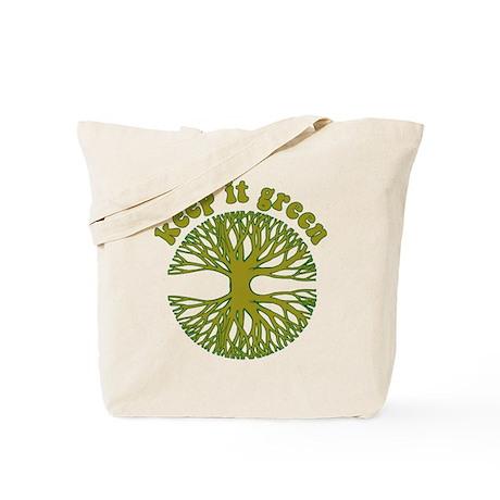 KEEP IT GREEN Tote Bag