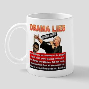 Anti Obama Mug