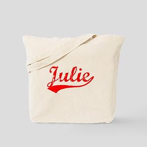 Vintage Julie (Red) Tote Bag