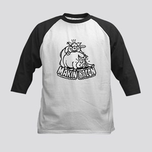 Makin Bacon Kids Baseball Jersey