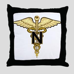 U.S. Army Nurse Throw Pillow