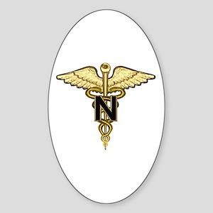 U.S. Army Nurse Oval Sticker