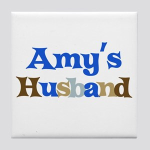 Amy's Husband Tile Coaster