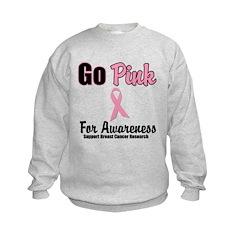 Go Pink For Awareness Sweatshirt