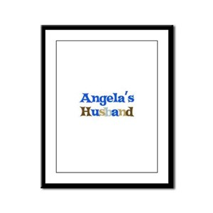 Angela's Husband Framed Panel Print