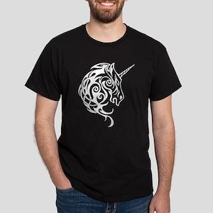 Tribal Unicorn Dark T-Shirt