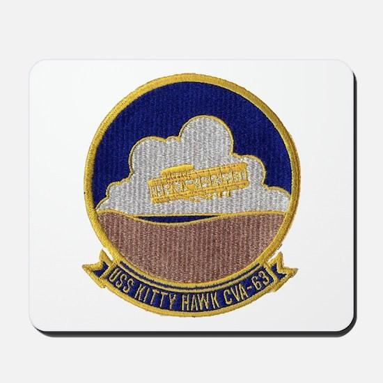 USS KITTY HAWK Mousepad