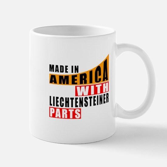 Made In America With Liechtenste Mug