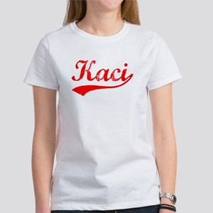 Vintage Kaci (Red) Women's T-Shirt