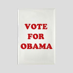 Vote for Obama Rectangle Magnet