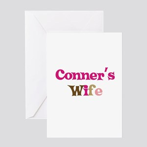 Conner's Wife Greeting Card