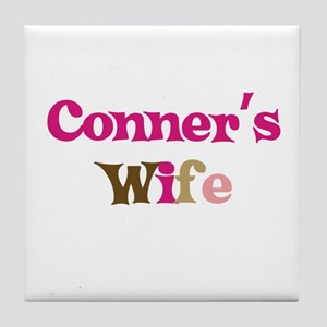 Conner's Wife Tile Coaster