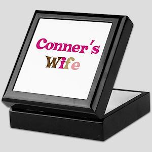 Conner's Wife Keepsake Box