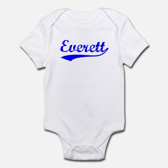 Vintage Everett (Blue) Infant Bodysuit