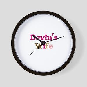 Devin's Wife Wall Clock