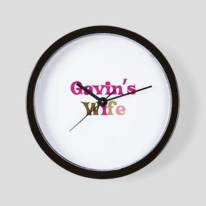 Gavin's Wife Wall Clock