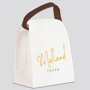 Midland Texas Canvas Lunch Bag
