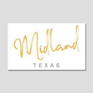 Midland Texas Car Magnet 20 x 12