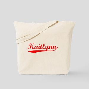 Vintage Kaitlynn (Red) Tote Bag