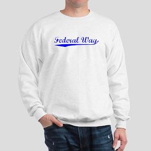 Vintage Federal Way (Blue) Sweatshirt