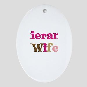 Kieran's Wife Oval Ornament