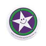 "Star Allergy Alerts - logo 3.5"" Button"