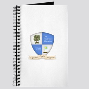 Our Fourpence Worth Crest Journal