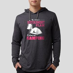 I Plan On Camping T Shirt Long Sleeve T-Shirt
