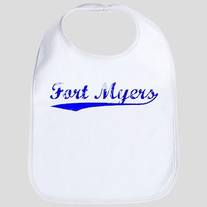 Vintage Fort Myers (Blue) Bib