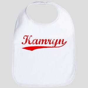 Vintage Kamryn (Red) Bib