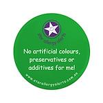 """No Artificials 3.5"""" Button"""