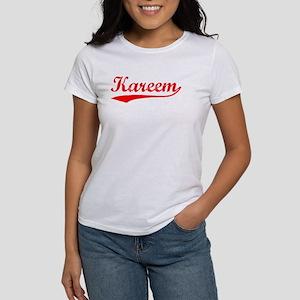 Vintage Kareem (Red) Women's T-Shirt