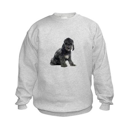 Bedlington Terrier Picture - Kids Sweatshirt