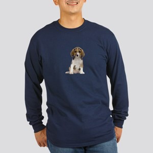 Beagle Picture - Long Sleeve Dark T-Shirt