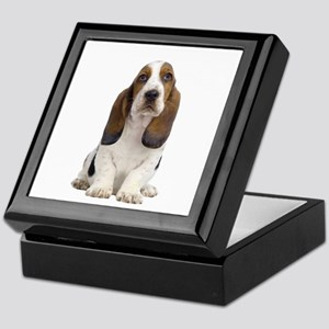 Basset Hound Picture - Keepsake Box